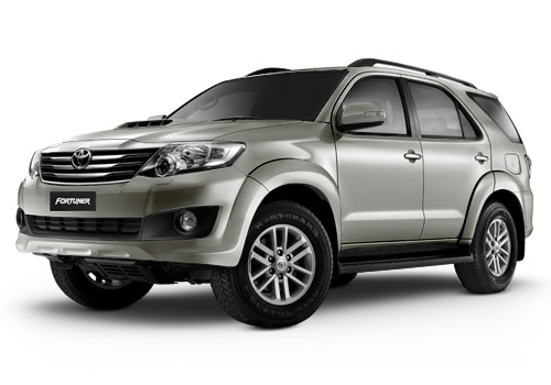 New Toyota Fortuner White Pearl Mica Color