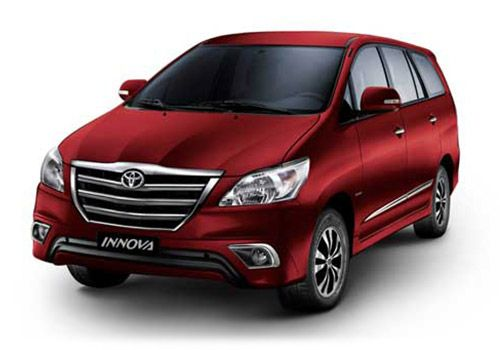 Toyota Innova Dark red mica Metallic Color