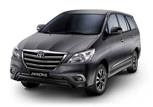 Toyota Innova Grey Metallic Color