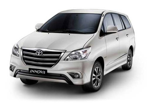 Toyota Innova Super white Color