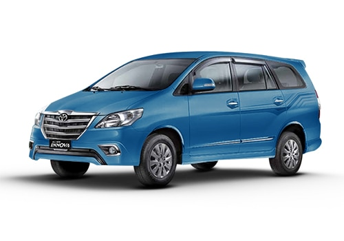 Toyota Innova Blue Metallic Color