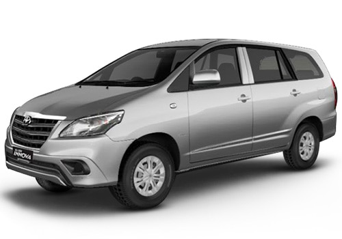 Toyota Innova Silver Mica Metallic Color