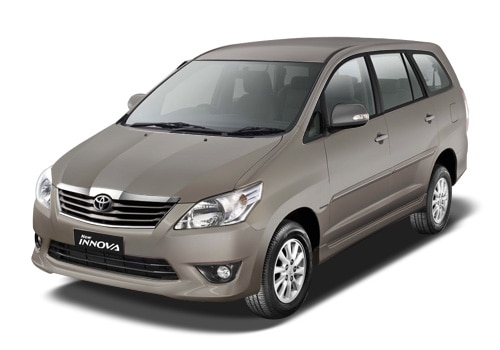 Toyota Innova Metallic Grey Color Pictures