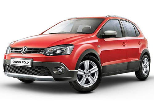Volkswagen Cross Polo Flash Red Color