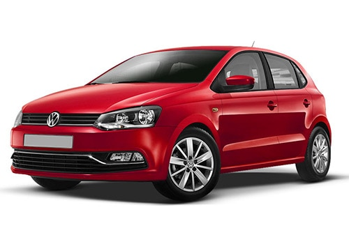 Volkswagen Polo Flash Red Color