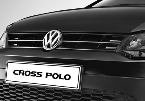 Volkswagen Cross Polo Black Color Pictures