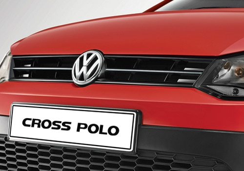 Volkswagen Cross Polo Red Color Pictures