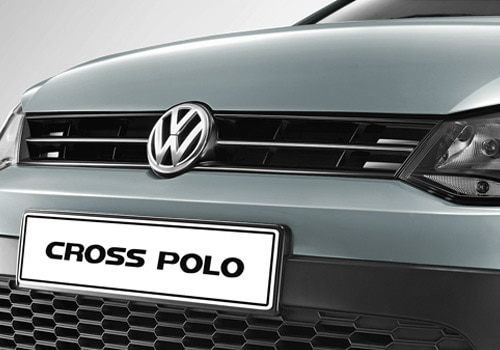 Volkswagen Cross Polo Silver Color Pictures
