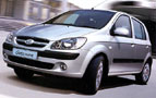 Hyundai Getz - less parking space , good interir and comfort of a big car