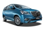 toyota innova is waste infornt of chevrolet tavera,