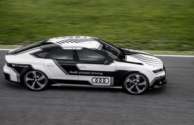 Audi RS7 Auto Piloted Driving Concept