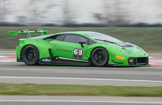 lamborghini huracan gt3 officially joins the blancpain endurance series bus. Black Bedroom Furniture Sets. Home Design Ideas