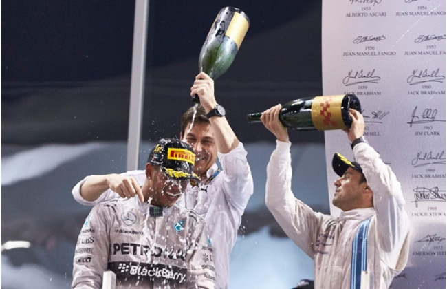Lewis Hamilton, The New F1 World Champion