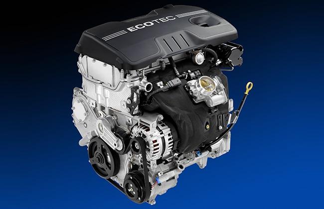 General Motors �??Chevrolet�?? EcoTec engine