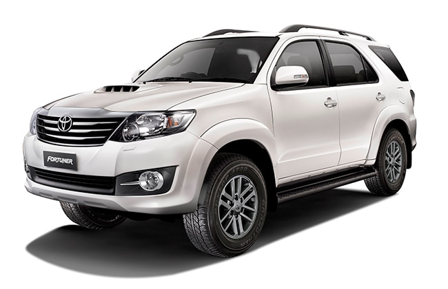Toyota Launches 2015 Fortuner 4x4 At And Innova Business