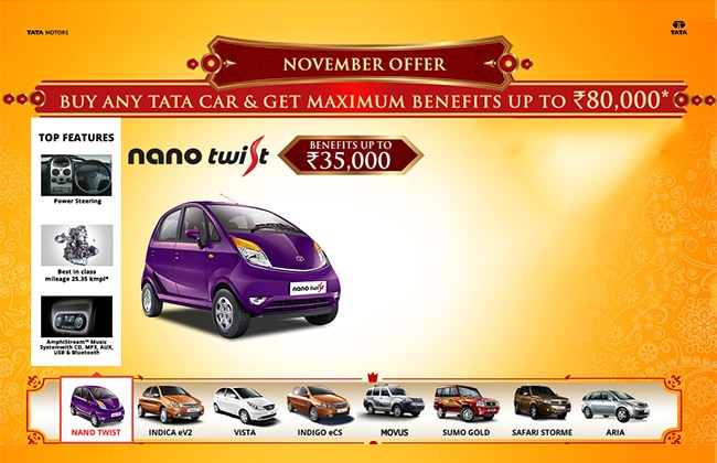 Tata Motors Lucrative November Offer