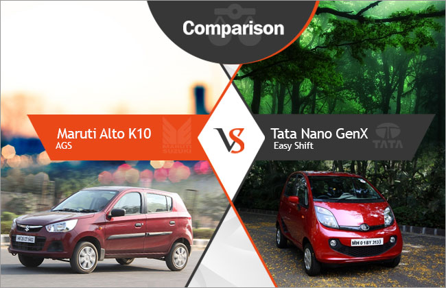 Tata Genx Nano: Competition Check: Tata Nano GenX Easy Shift Vs Maruti