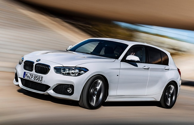 india bound 2015 bmw 1 series facelift revealed business standard news. Black Bedroom Furniture Sets. Home Design Ideas