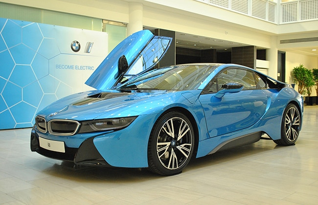 launched in india bmw i8 wins ukcoty 2015. Black Bedroom Furniture Sets. Home Design Ideas