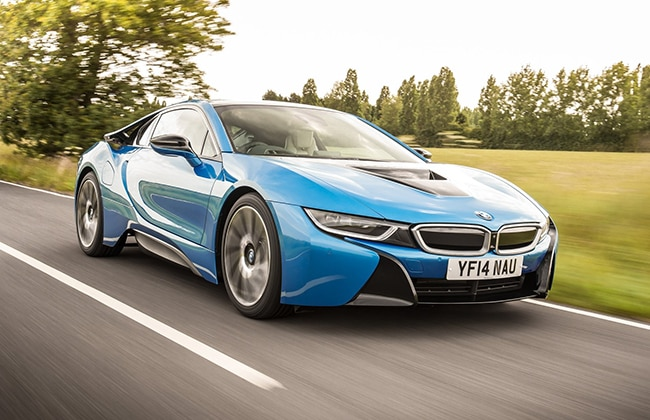 Bmw I8 India S First Hybrid Supercar Launched At Inr 2 29 Crore