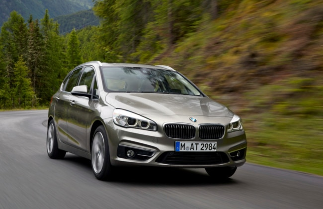 BMW 2-Series Active Tourer line-up updated