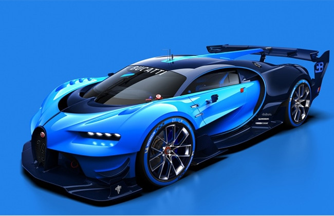 Bugatti Vision Gran Turismo Project Revealed Ahead of Launch! (Image on