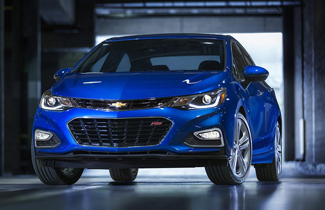 Next-gen Chevrolet Cruze