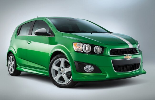 Chevy Sonic Performance concept