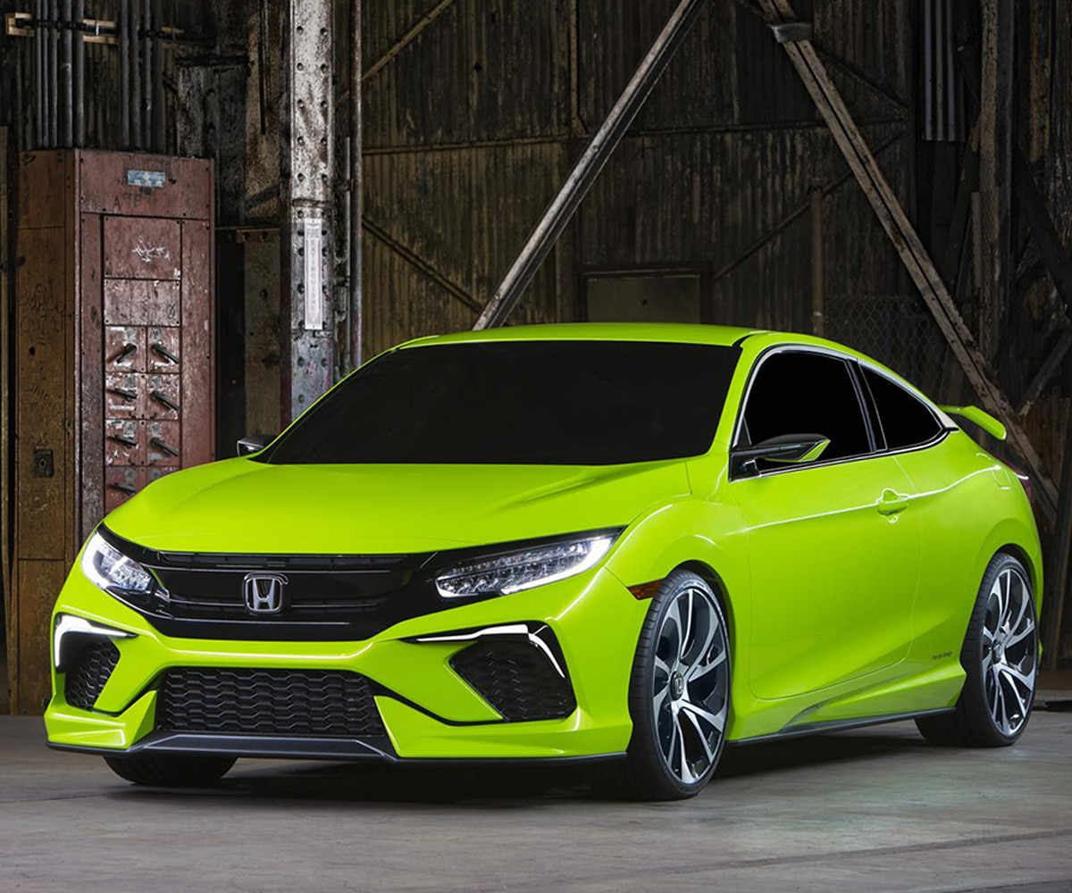 Honda Reveals Next-gen Civic At The 2015 New York Auto