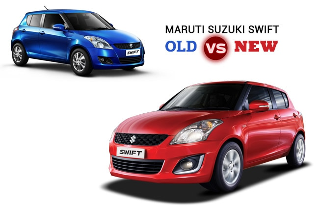 Maruti Suzuki Swift Old Vs New