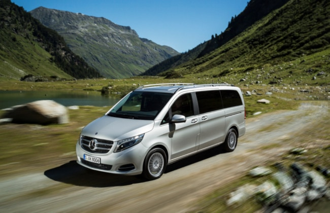 Mercedes-Benz V250 BlueTEC 4Matic revealed; debut at Paris Motor Show