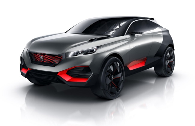 Peugeot to Showcase Quartz Concept