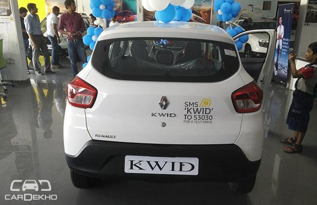 Renault Kwid Rear