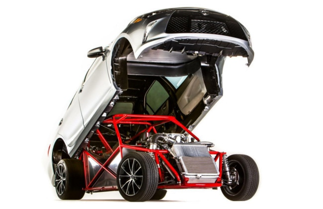 2014 SEMA Show: Toyota Showcases 850hp+ Sleeper Camry - Dragster!