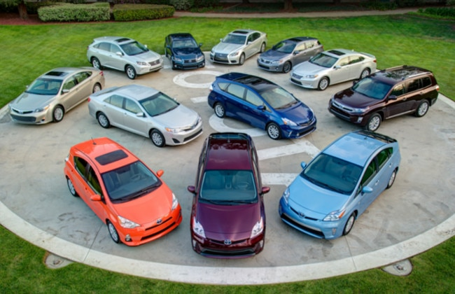 Toyota celebrates 7 million global hybrid sales