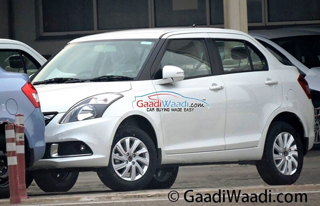 2015 Maruti Suzuki Swift Dzire Facelift Spied, Launching Soon ... on 2015 new sidekick, 2015 new ford, 2015 new superb, 2015 new rock, 2015 new terios, 2015 new bolero, 2015 new lincoln, 2015 new alto, 2015 new dodge,