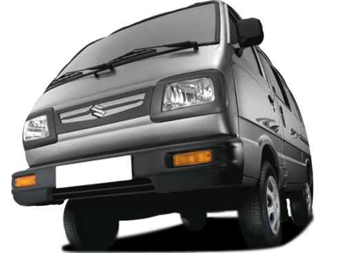 Maruti Omni Black Color Pictures