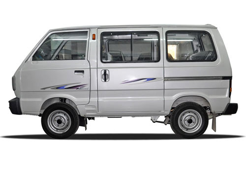 Maruti Omni Silver Color Pictures