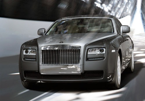 Rolls-Royce Ghost - Front Angle High View Exterior Photo