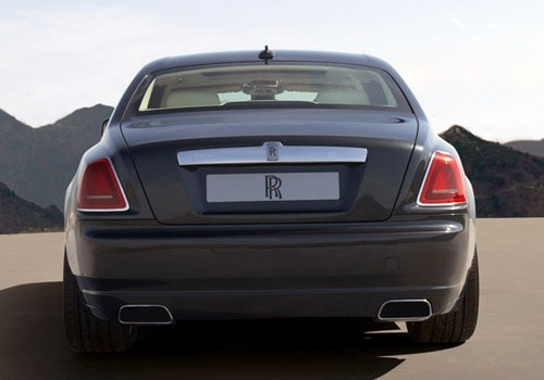 Rolls-Royce Ghost - Full Rear View Exterior Photo