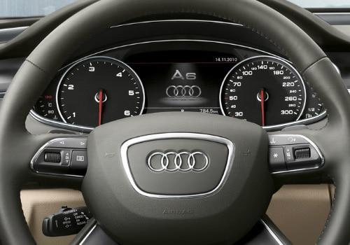 Audi A6 Interior. Audi A6 TachoMeter Interior