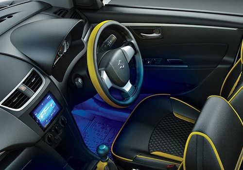 Maruti suzuki suzuki swift vxi windsong limited edition for Swift vxi o interior