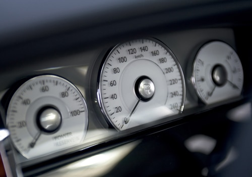 Rolls-Royce Ghost - TachoMeter Interior Photo