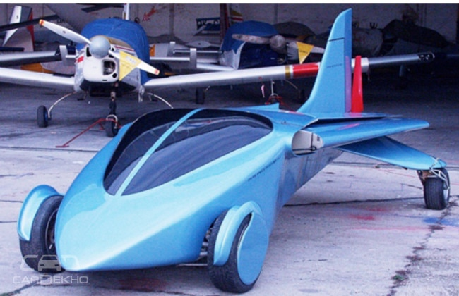 Flying car AeroMobil 3.0