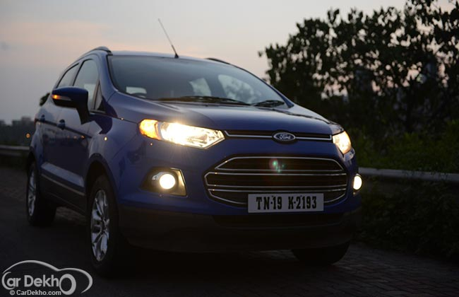 ford ecosport crosses 100 000 sales milestone business standard news. Black Bedroom Furniture Sets. Home Design Ideas