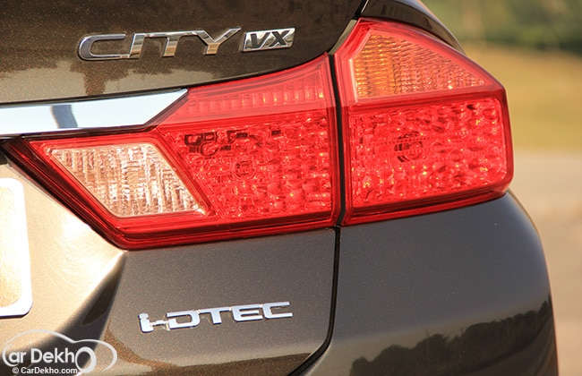New Tail Lamps In Honda City