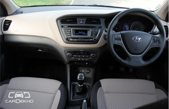 Hyundai elite i20 first drive expert review hyundai for I20 asta o interior
