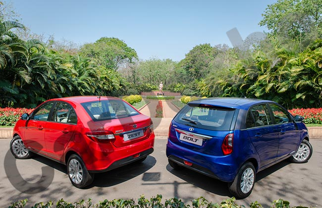 Tata Zest and Bolt