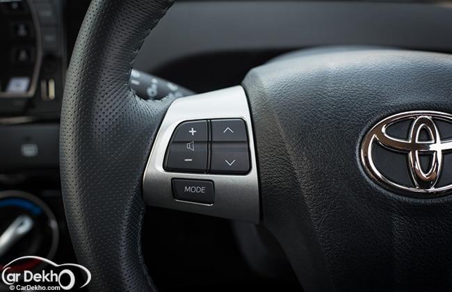 Toyota Etios Cross Steering