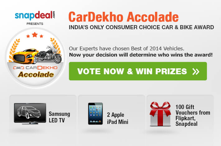 Vote for CarDekho and Win Prizes!
